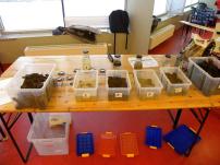 Versuche bei Boden macht Schule Workshops