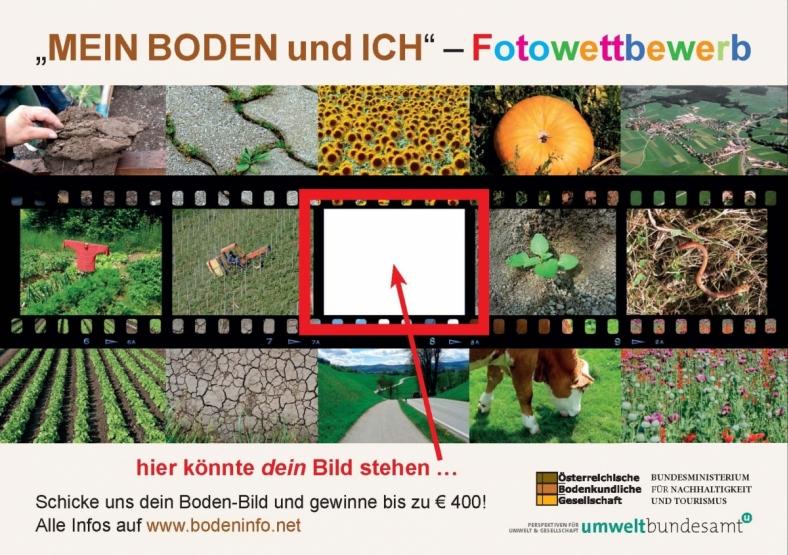 Freecard zum Fotowettbewerb: Mein Boden und Ich!