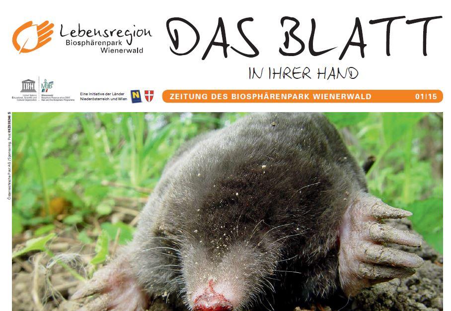 Das Blatt - Magazin des Biosphärenpark Wienerwald